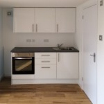 Garage to office conversion in Farnham Common