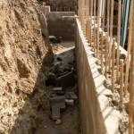 Building into sloping ground