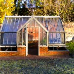 Period greenhouse brickwork in Beaconsfield