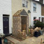 Teddington porch and external facelift